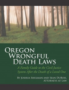 Oregon wrongful death attorneys