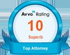 Avvo Rating - Superb