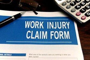 workplace injury, work accident, workers compensation form, workers comp claim