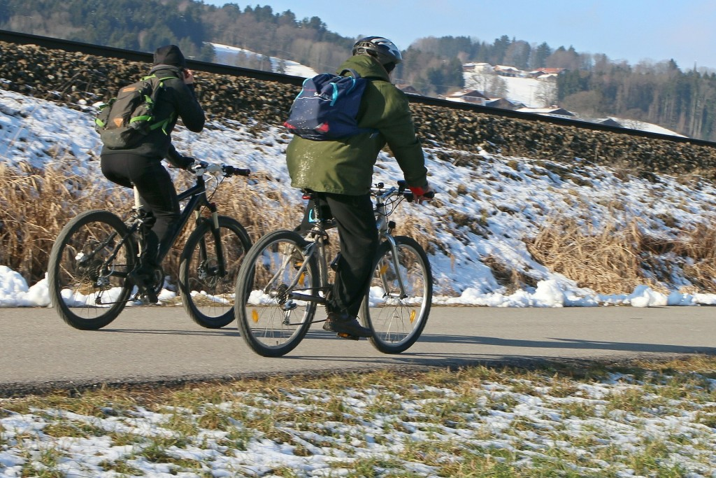 Tips for Safe Winter Bicycling